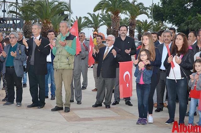 Türk Eğitim Sen Alanya Temsilciliği 18 Mart Çanakkale Zaferi Anısına Şehitlere Saygı Yürüyüşü -6