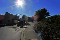 20120916 19 100 Jakobus Gimont Straße Sonne Häuser Büsche - Photo of Gimont