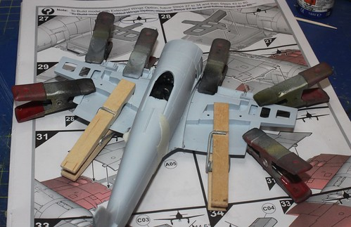Hawker Sea Fury FB.11, Airfix 1/48 39142610530_61a8c6541e