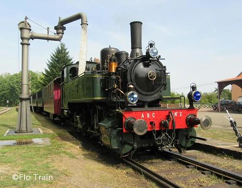 Locomotive à vapeur 020+020T  à Burnhaupt