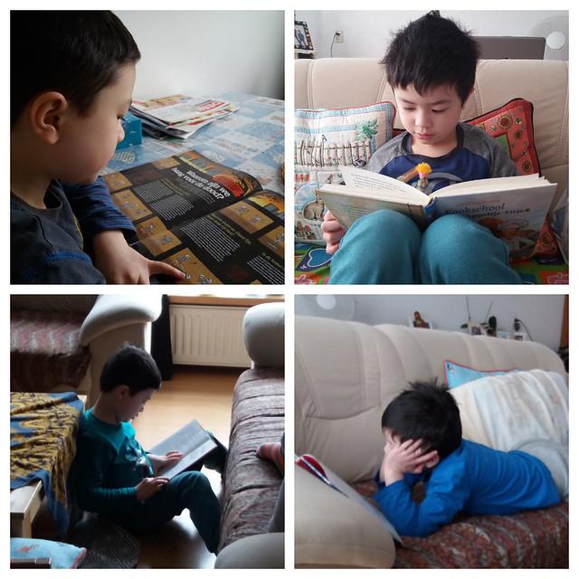 Matthew reading