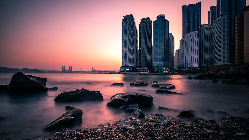 Dongbaek Park, Busan, South Korea picture