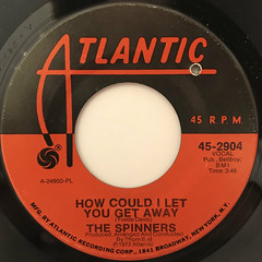 THE SPINNERS:I'LL BE AROUND(LABEL SIDE-B)