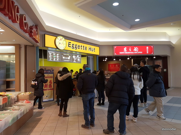 Eggette Hut in First Markham place
