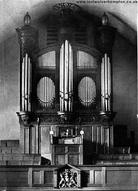 The new Renatus Organ inside St John's Church