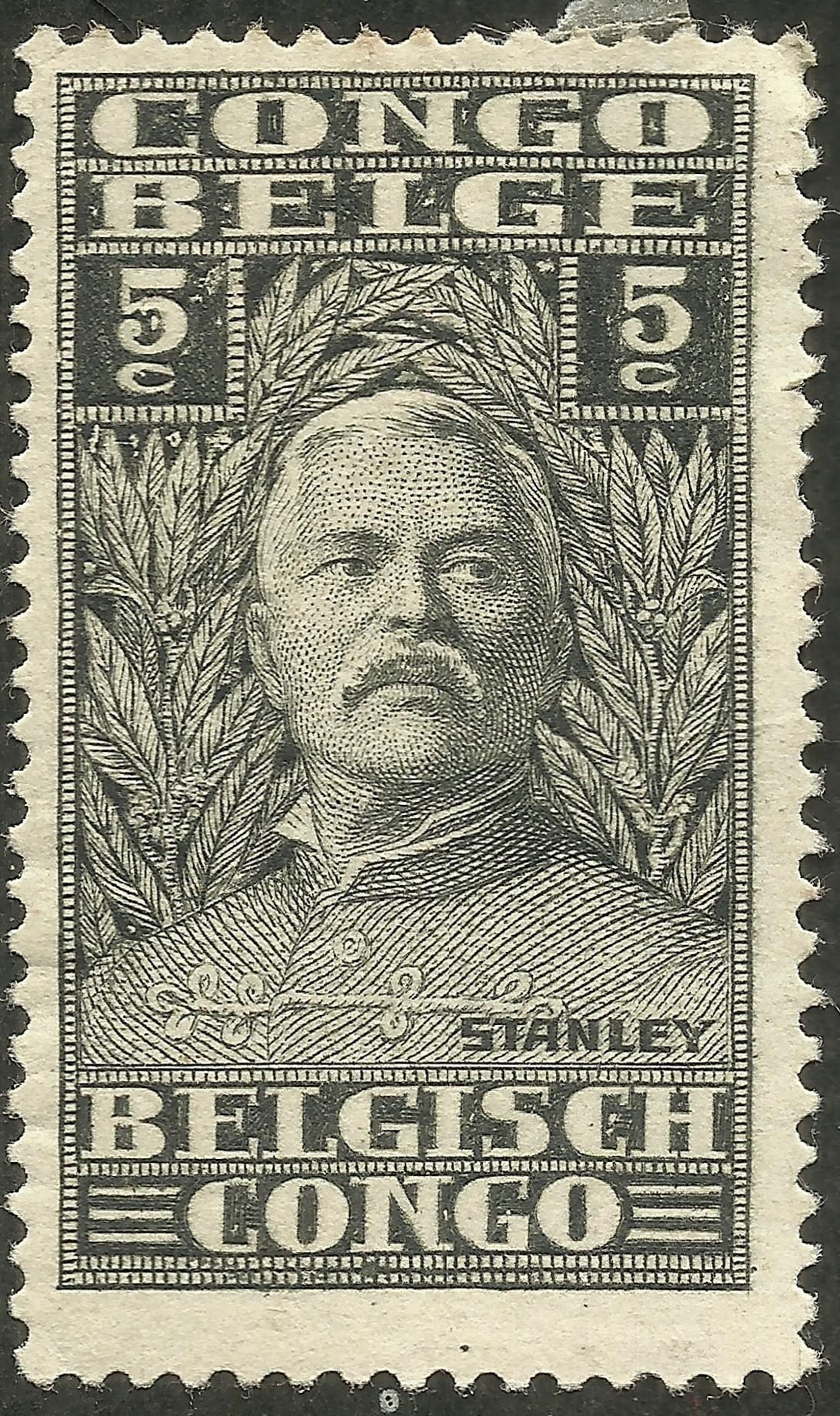 Belgian Congo - Scott #115 (1928)