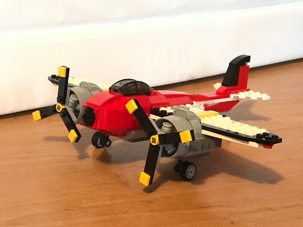 Quick afternoon #Lego plane build
