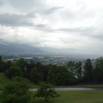 Rhine River - Liechtenstein and Switzerland Border