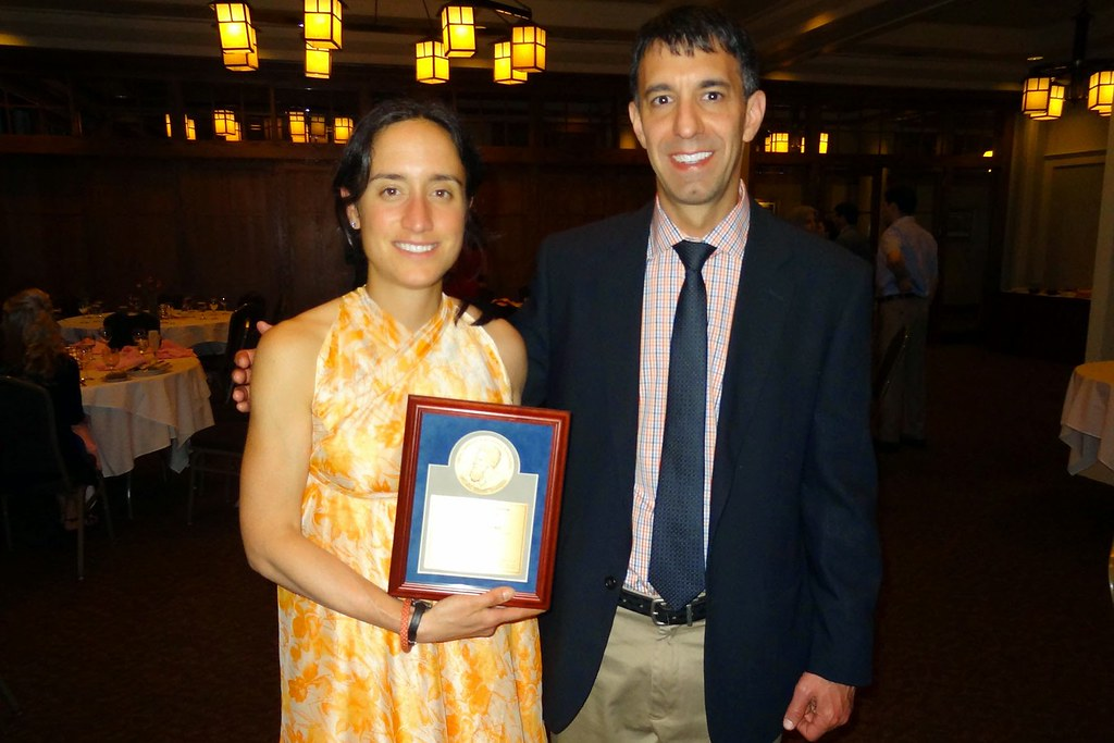 Dr. Novick with ARRO Research Award