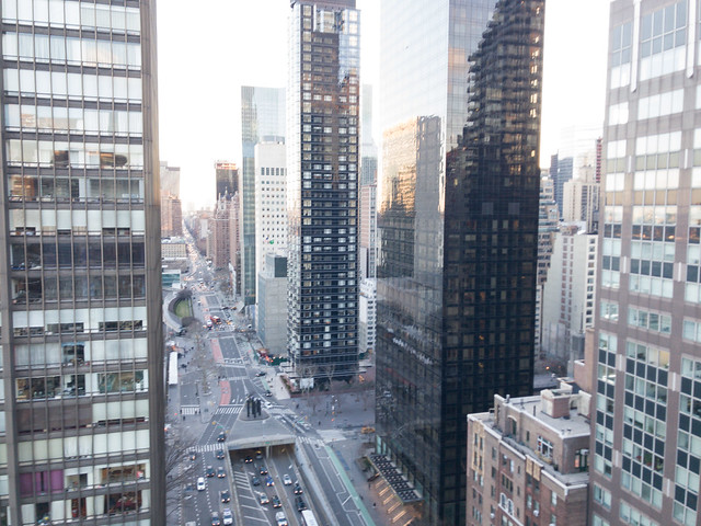 View of Midtown East from the terrace