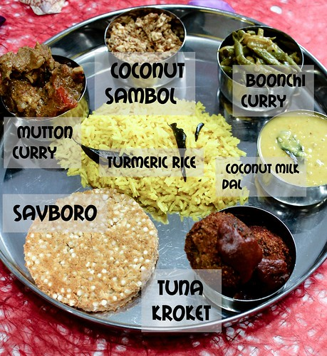 Sri Lankan Thali -edit