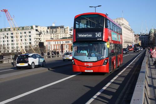Arriva London HV342 LF67EUL