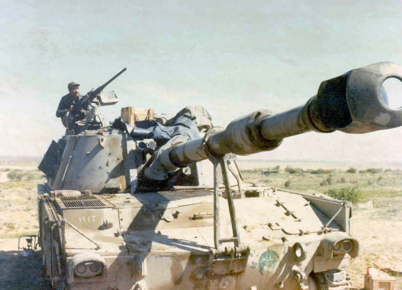 155mm-M109-iran-war-against-iraq-n54-1