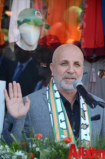 Alanyaspor Kulüp Başkanı Hasan Çavuşoğlu