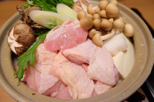 博多風名古屋コーチンの水炊き鍋