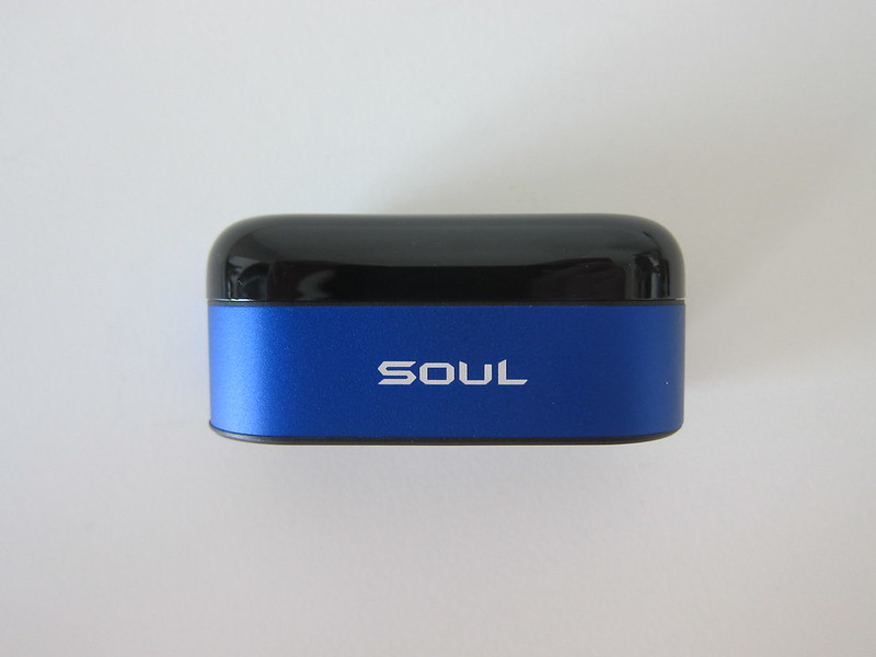 Soul ST-XS Wireless Earphones - Charging Case - Front