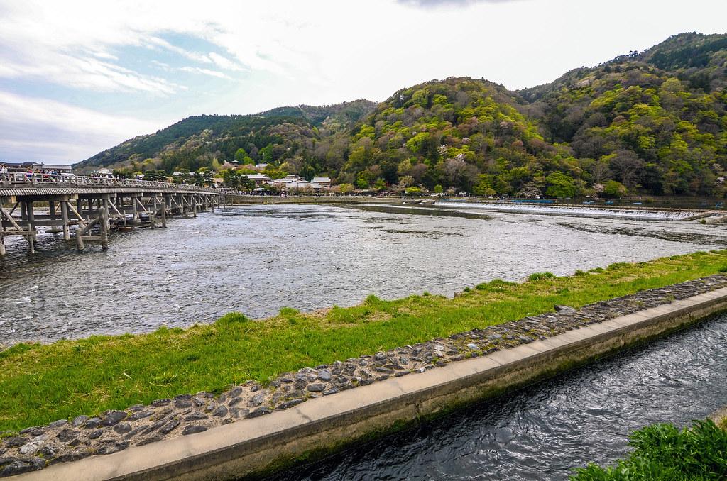 River bridge Arashiyama