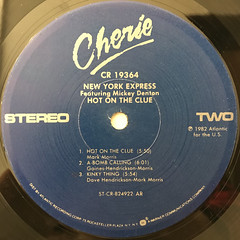 NEW YORK EXPRESS:HOT ON THE CLUE(LABEL SIDE-B)