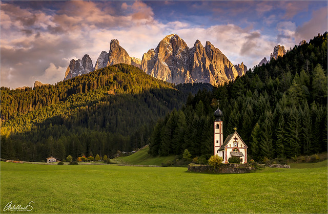 St. Johann in Ranui, Dolomites, Italy
