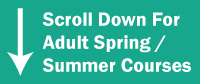 Adult Spring/Summer Courses