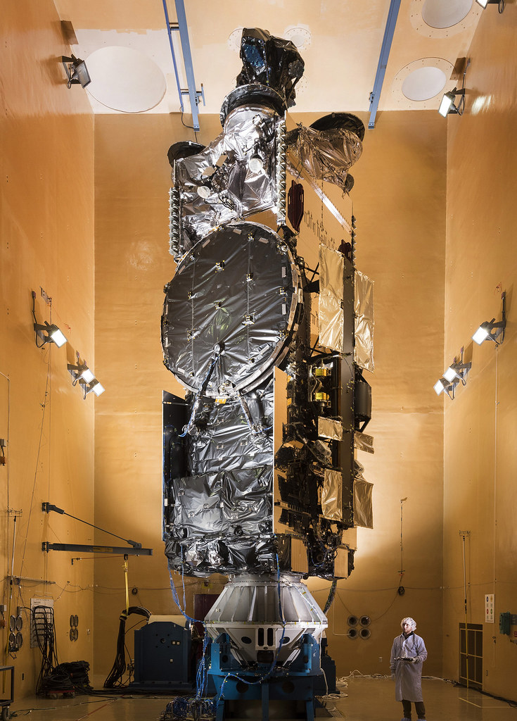 Hellas Sat 4 in acoustics chamber