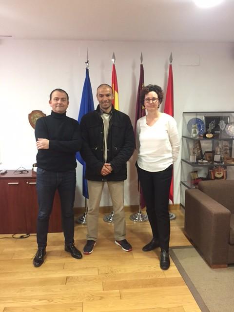 Visita Prof Argelino Mamar Bennour