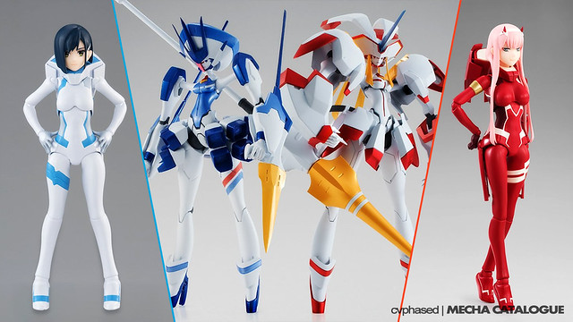 "Tamashii Nations ""DARLING in the FRANXX"" Releases"