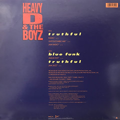 HEAVY D & THE BOYZ:TRUTHFUL(JACKET B)