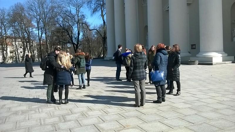 Aplankėme Vilniaus kultūros paminklus