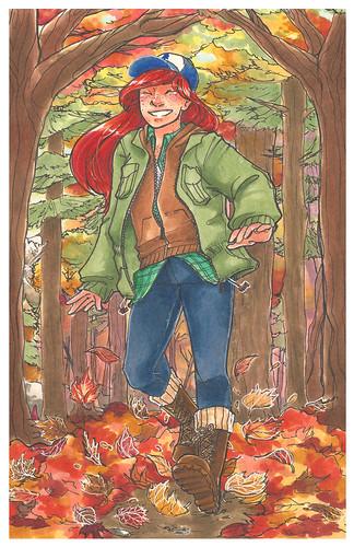 wendy. Artist Melissa Cordes