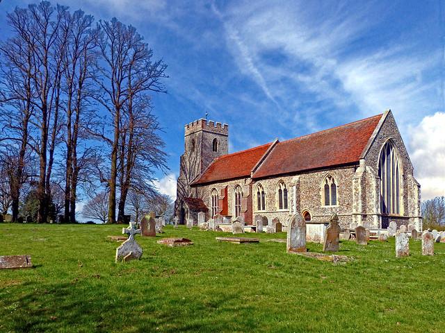St. Andrew's church, Bulmer, Panasonic DMC-FZ48