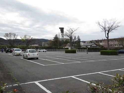 福島競馬場の第二駐車場の様子