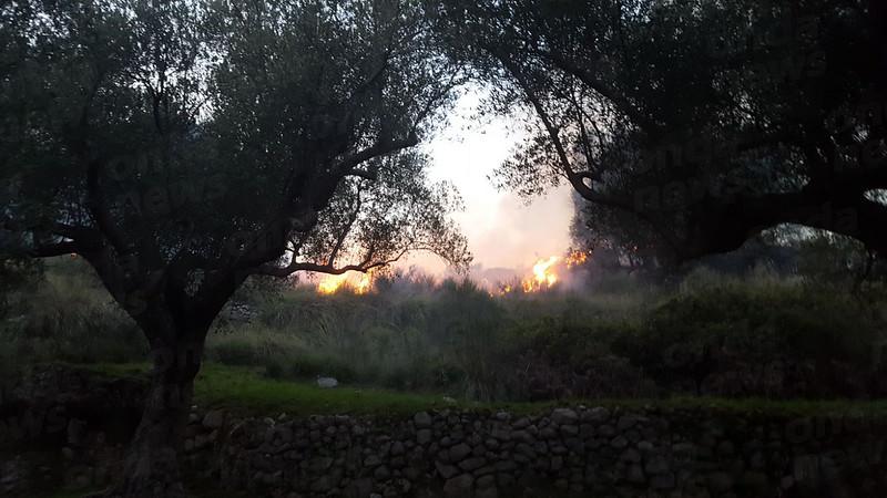 Incendio San Giovanni a Piro 8 aprile 2