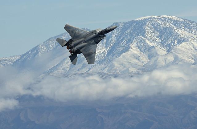 Boeing F-15SA Strike Eagle, Nikon D800E, AF-S VR Nikkor 400mm f/2.8G ED