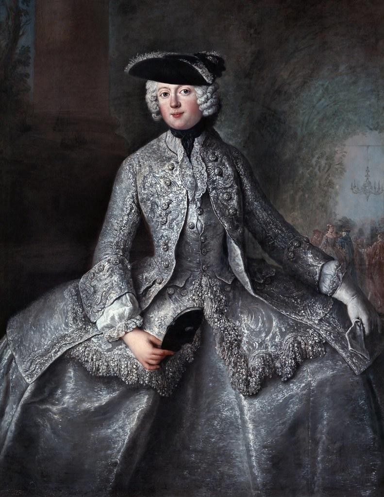Antoine Pesne - Prinzessin Amalia von Preussen (1757)