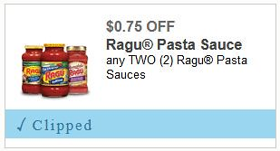 graphic about Ragu Printable Coupons known as Refreshing Ragu coupon: Help you save 0.75/2 Ragu in the course of 5/31/2018