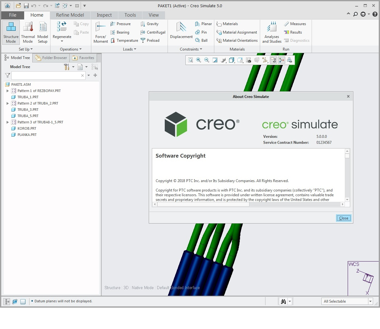 Working with PTC Creo simulate 5.0 F000 x64 full