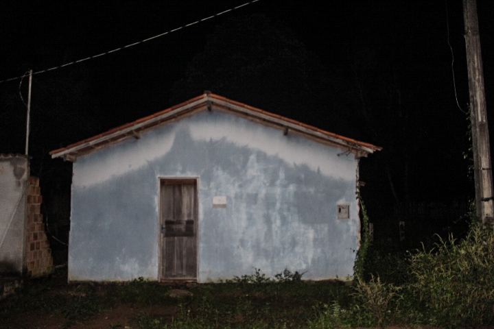 A casa em que Doutor viveu no Assentamento Palmares, em Parauapebas.