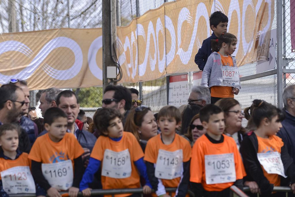 VII Carrera popular, escolar y solidaria Santa Clara categoría Infantil sub 14