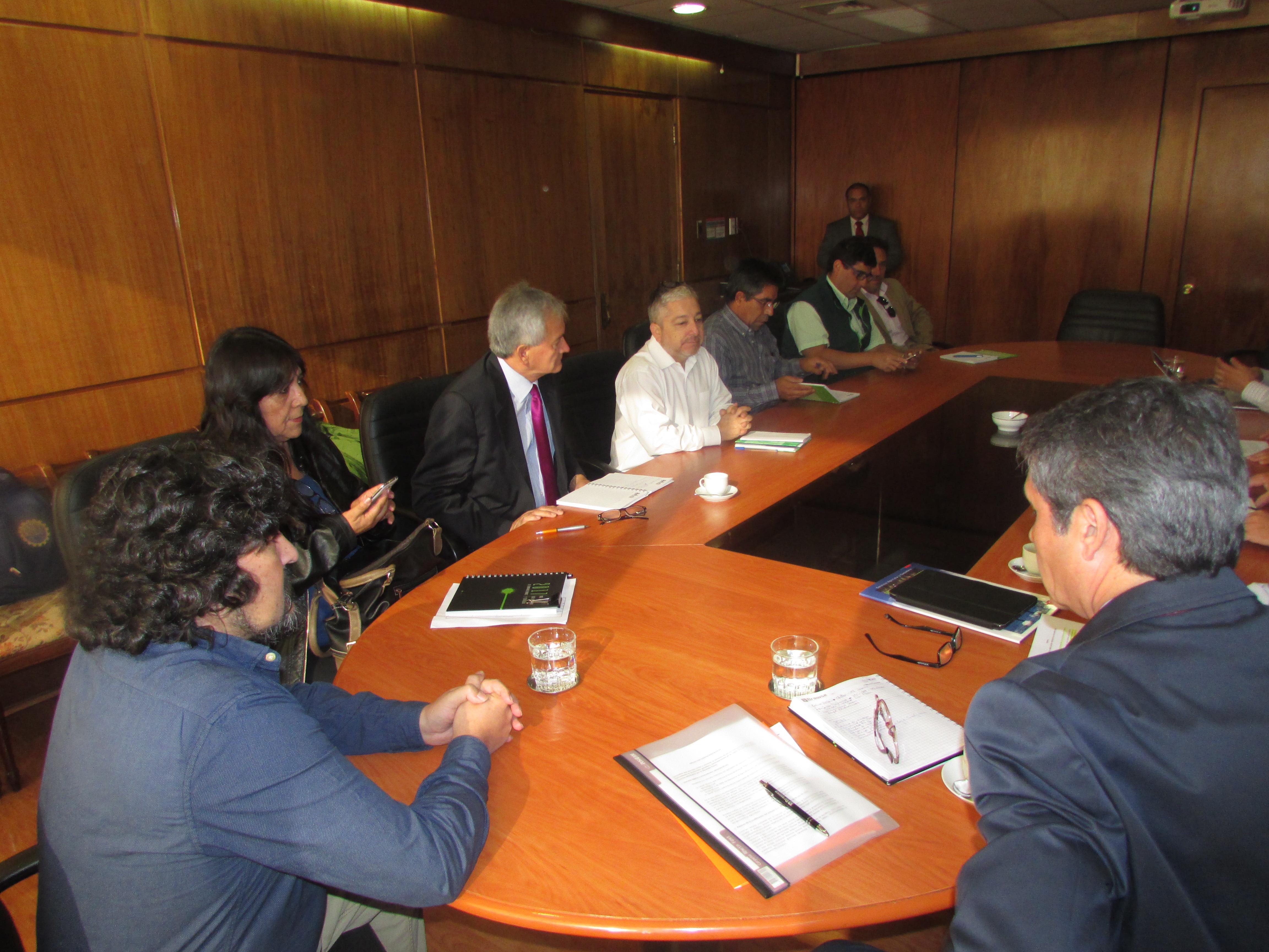 Primera reunión Protocolar con Ministro y Subsecretario de Agricultura - 04 Abril 2018