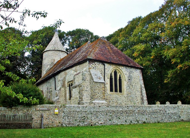 St Peter's Church, Southease, Fujifilm FinePix A800