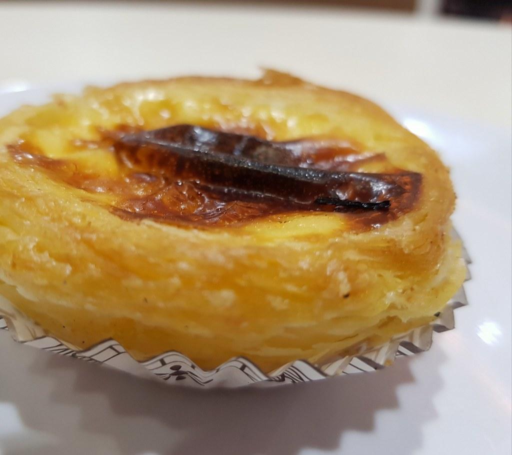葡式蛋撻 Portugese egg tart $10/pc @ 澳門茶餐廳 Macau Restaurant 九龍尖沙咀樂道 25-27地下 Kowloon Tsim Sha Tsui Lock Road