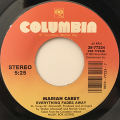 MARIAH CAREY:HERO(LABEL SIDE-B)