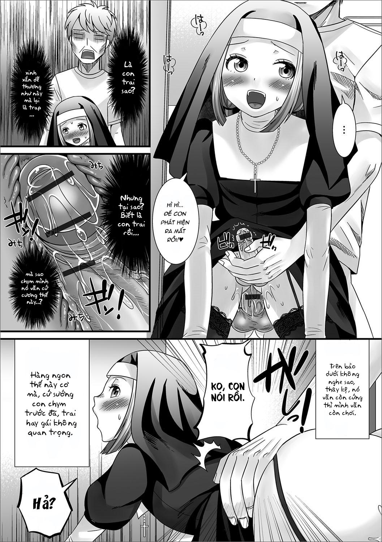 HentaiVN.net - Ảnh 13 - Buổi xưng tội - Onegai! Sister (Gekkan Web Otoko no Ko-llection! S Vol. 17) - Oneshot
