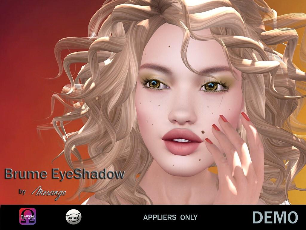 MESANGE - Brume Eyeshadow - TeleportHub.com Live!