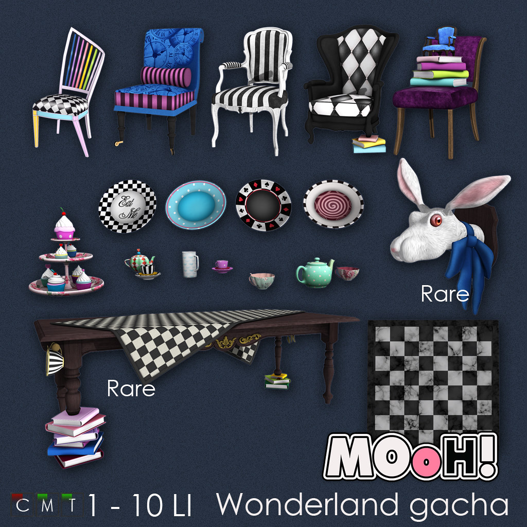 MOoH! Wonderland gacha - TeleportHub.com Live!