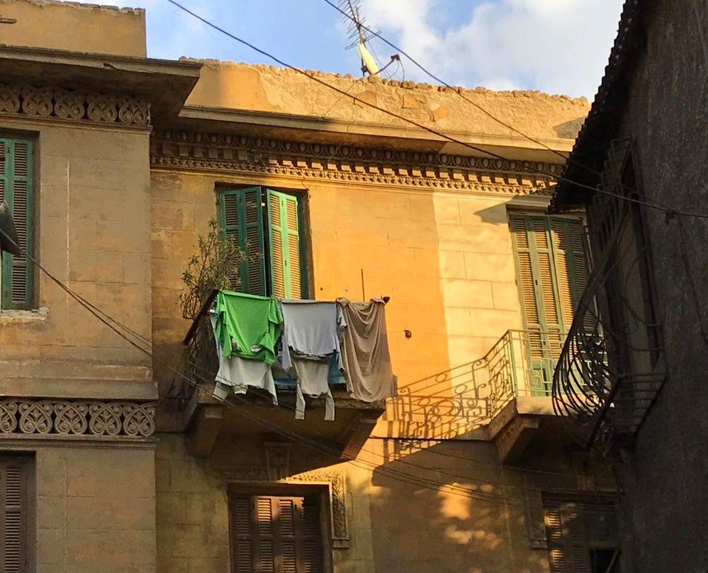 Cairo old city has beautiful mansions