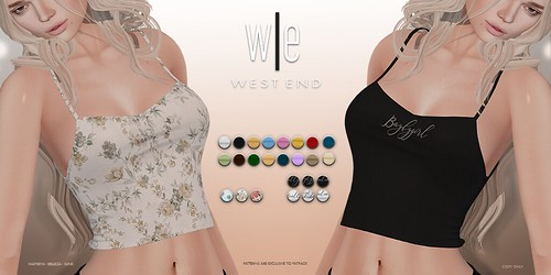 [ west end ] Apparel - Lucy Tank (FATPACK)