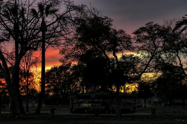 Sunset at Furman Park