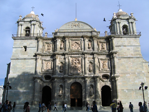 Mexico - Oaxaca - Cattedrale